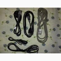Удлинители сетевого кабеля до компьютера и Европейский (вилка)