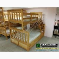 Детская двухъярусная кровать Олигарх Эко Ольха