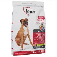Корм для собак 1st Choice Sensitive SkinCoat Adult LambFish