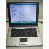 Ноутбук Acer TravelMate 2310, 15.4 дюйма, рабочий, без HDD и зарядного