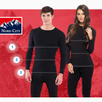 Термобелье «Nord City»( мужское, женское), все размеры