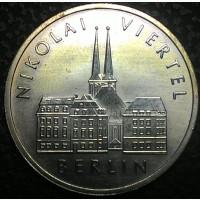 Германия 5 марок 1987 год UNC!!!! ОТЛИЧНАЯ