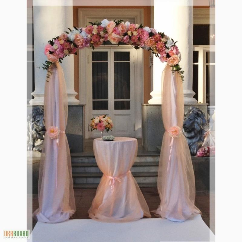 Своими руками украшаем арку на свадьбу