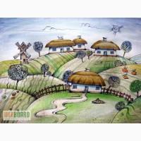Обучение детей рисованию в изостудии Днепропетровска