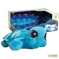 Ночник звездного неба Черепаха с колыбельной и USB-шнуром