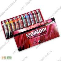 Продам наборы красок акриловых Maimeri для хобби