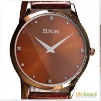 Часы наручные мужские водонепроницаемые Sinobi 9141