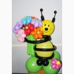 Фигуры, цветы, композиции из шаров, сердца, арки, гирлянды из шариков Киев