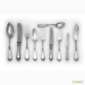 Купим старинную и современную посуду из серебра