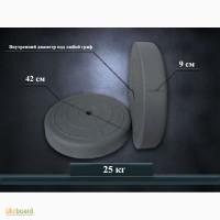 Блины, диски для штанги и гантелей 25 кг от производителя (пара)