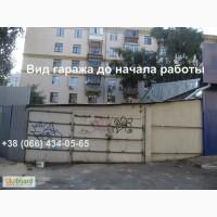 Монтаж профнастила. Обшивка гаража. Киев