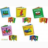 Книжки-шуршалки мягкие, 8 видов