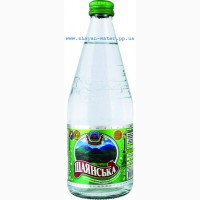 Шаянская, минеральная вода, слабо-газированная, стекло, емк.0, 5л