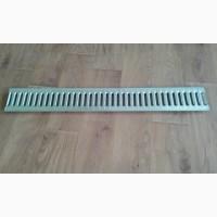 Решетка защитная водоприемная стальная штампованная (оцинкованная) 1000*136*3