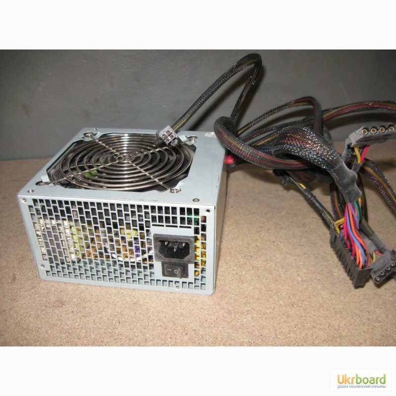 Фото 2. Блок питания GoldenField 440W (490W) для компьютера