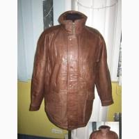 Оригинальная утеплённая мужская куртка ECHTES LEDER. 100% кожа. Лот 49