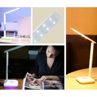 Настольная лампа трансформер Remax RL-E270 + будильник + подсветка 8 цветов
