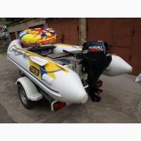 Лодка Haris T360L с 4-х тактным 15 л.с. Suzuki + лафет UMS 36 + допы