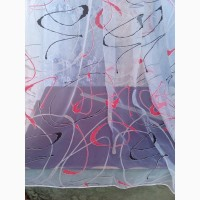 Тюль печать - абстракция