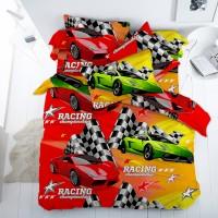 Постельное белье с машинами Ралли (100% хлопок) - хит для мальчиков
