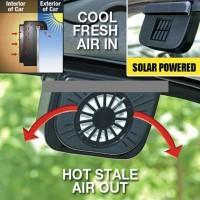 Автомобильный вентилятор на солнечной батарее Auto Cool Solar Ventilation System