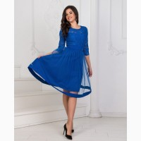 Короткое вечернее платье большого размера