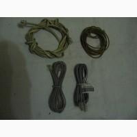 Кабель-шнур соединительный. 4 штуки