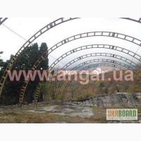 Продам ангар 15*24 арочный демонтированный
