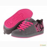 Яркие замшевые кроссовки DC, куплены в Америке