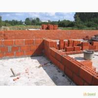 Услуги каменьщика, Стяжка, Фундаментные работы