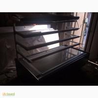 Продам б/у кондитерские холодильные витрины 1, 8 метра на динамике