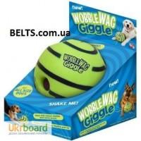 Киев.Хихикающий игрушка, мяч для собак Wobble Wag Giggle Ball манят Вог Гигл Бол
