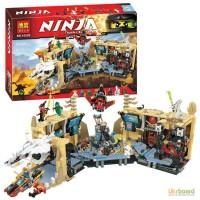 Конструктор BELA Ninjago, строение, фигурки, 1310 дет., в кор. 10530