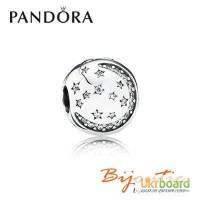 Шарм Pandora клипса блеск звезд 791386CZ