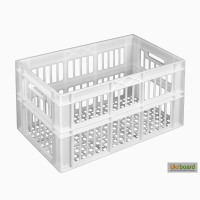 Пищевой пластиковый ящик 660х360х366