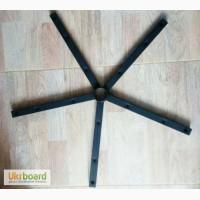 Крестовина стальная под деревянные накладки