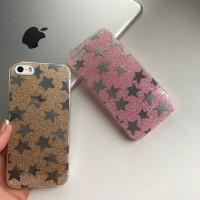 Силиконовый чехол «Звезды» для iPhone 5/5S