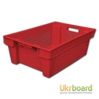 Ящик пластиковый, ящик для хранения, ящики для мяса, молока, творога, рыбы, колбасы, овощей