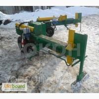 Дровокол для брёвен: d-500-800-1100 мм.; h=250-500 мм.; Усилие- 12 тонн