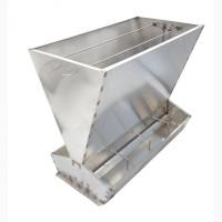 Бункерные кормушки для откорма 80 голов свиней от 20 до 140 кг (кс324), нержавейка