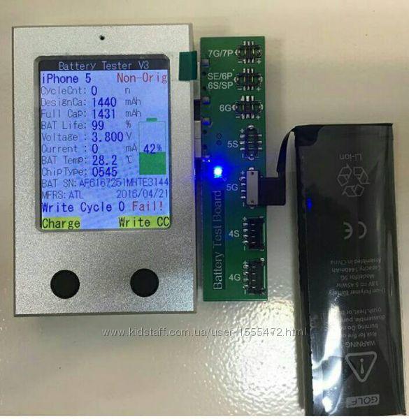 Фото 9. Уникальный тестер батареи iPhone с помощью которого вы сможете проверить работоспособность