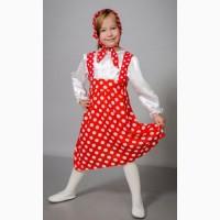 Детский карнавальный костюм Маша, размеры 30-32