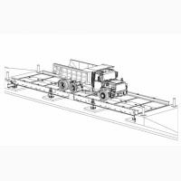 Ваги автомобільні платформа виготовляється у замовника