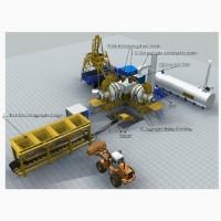 Мобильный асфальтобетонный завод Sinosun QLB20 -20 т/час