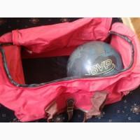 Дорожняя сумка, красная. Можно для боулинг шаров (new)