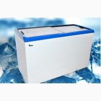 Ларь морозильный M500Р Juka (с прямым стеклом)
