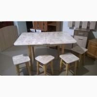 Кухонні розкладні столи+табуретки (можливий продаж окремо)