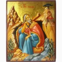 Илья Пророк рукописная именная икона в наличии