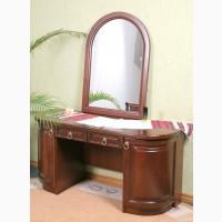 Туалетный столик с зеркалом Омега из дерева