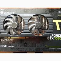 ВидеоКарту PALIT GeForce GTX 1060 3GB GDDR5 192bit бу срочно
